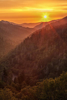 Tennessee Photograph - Day's Last Light by Andrew Soundarajan