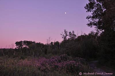Midsummer Eve Photograph - Day's Last Light by Michael David James