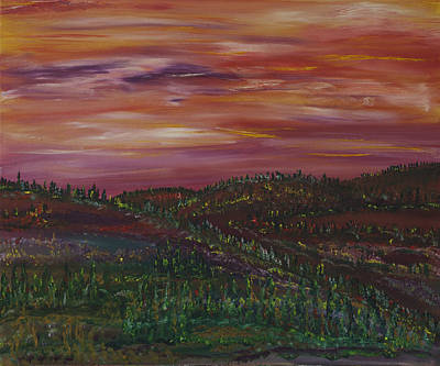 Painting - Days Of Rain by James Bryron Love