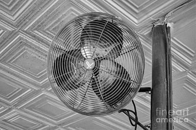 Laundromat Photograph - Dayton Antique Fan by Robert Loe