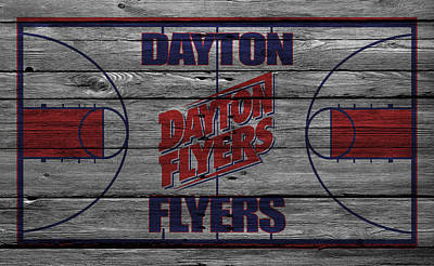 Dayton Flyers Art Print by Joe Hamilton