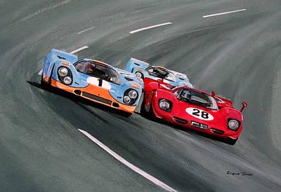 Daytona 1970 Art Print