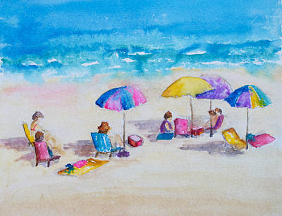 Painting - Daytona Beach by Patricia Beebe
