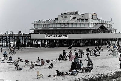 Photograph - Daytona Beach Pier by Jessica Brown