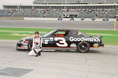 Earnhardt Photograph - Daytona Dale by Retro Images Archive