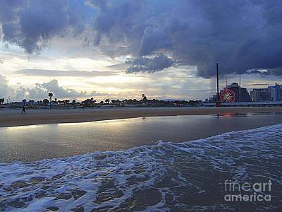 Art Print featuring the photograph Daytona Evening by Jeanne Forsythe