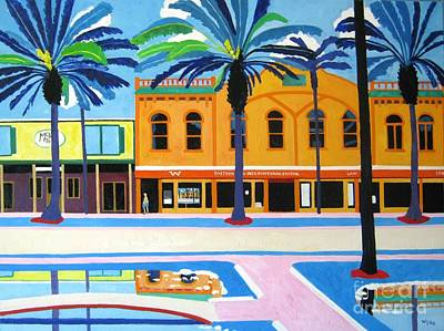 Mckays Irish Pub Daytona Florida Original by Lesley Giles