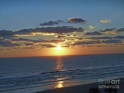 Photograph - Daytona Sunrise 1 by Tom Doud