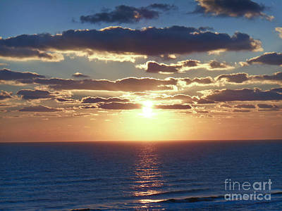 Photograph - Daytona Sunrise 2 by Tom Doud