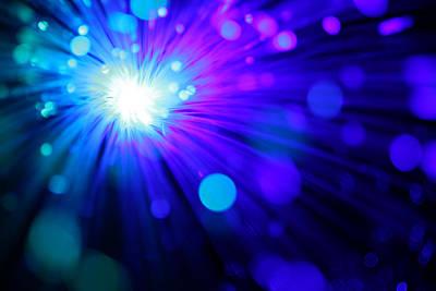Dazzling Blue Art Print by Dazzle Zazz
