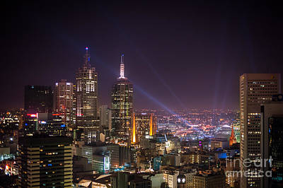 Photograph - Dazzling Melbourne by Ray Warren