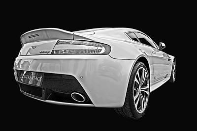 Photograph - Dazzling V12 Vantage - Aston Martin by Gill Billington