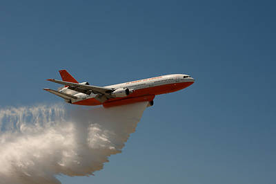 Photograph - Dc 10 Air Tanker by Richard J Cassato