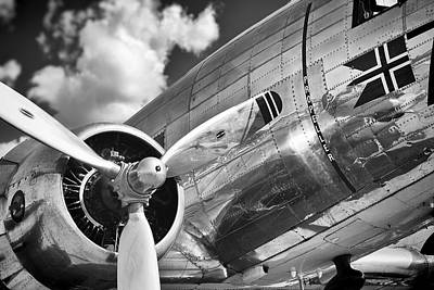 Photograph - Dc-3 Power by Ian Merton