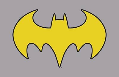 Batgirl Digital Art - Dc - Bat Girl Logo by Brand A