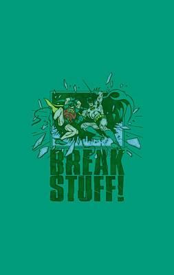 Batman And Robin Digital Art - Dc - Break Stuff by Brand A