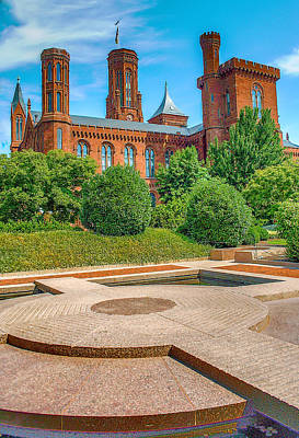 Smithsonian Photograph - Dc Castle by Dado Molina