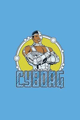 Lab Digital Art - Dc - Cyborg by Brand A
