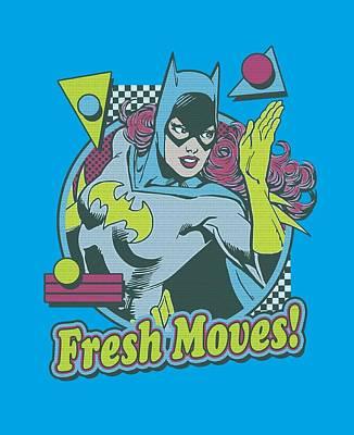 Batgirl Digital Art - Dc - Fresh Moves by Brand A