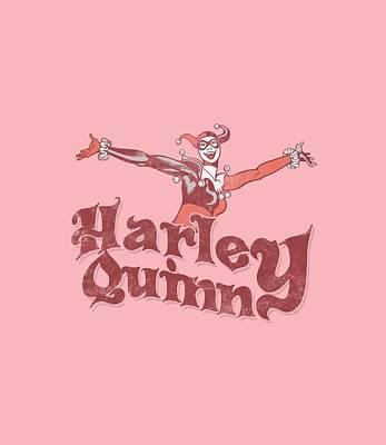 Harley Quinn Digital Art - Dc - Harley Hop Vintage by Brand A