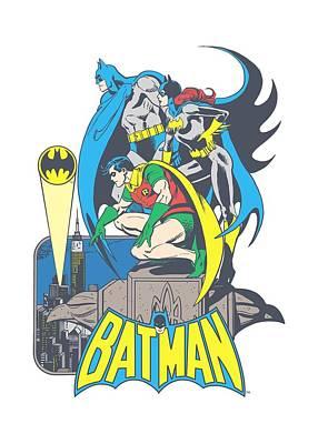 Batgirl Digital Art - Dc - Heroic Trio by Brand A