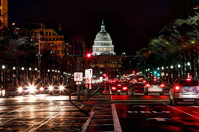 Photograph - Dc In The Dark by Walt  Baker