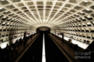 Photograph - Dc Metro by Angela DeFrias