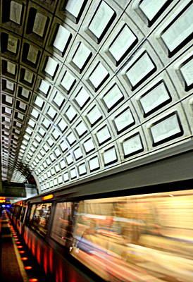 D.c. Metro Art Print by Ryan Johnson