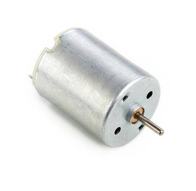 Dc Motor Art Print by Science Photo Library