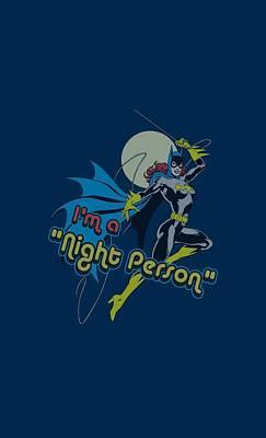Batgirl Digital Art - Dc - Night Person by Brand A