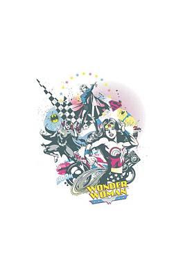 Supergirl Digital Art - Dc - Power Trio by Brand A
