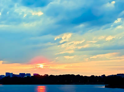 Photograph - Dc Sunset II by Ronda Broatch
