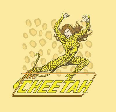 Cheetah Digital Art - Dc - The Cheetah by Brand A