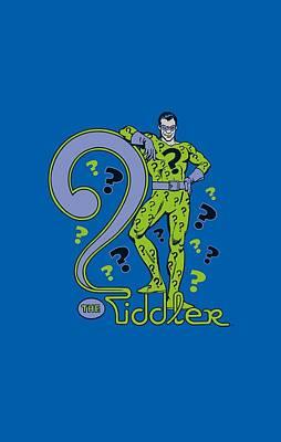 Riddler Digital Art - Dc - The Riddler by Brand A