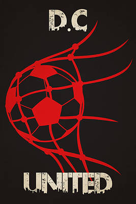 Dc United Goal Art Print