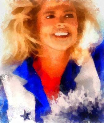 Digital Art - Dcc Legend Tk by Carrie OBrien Sibley