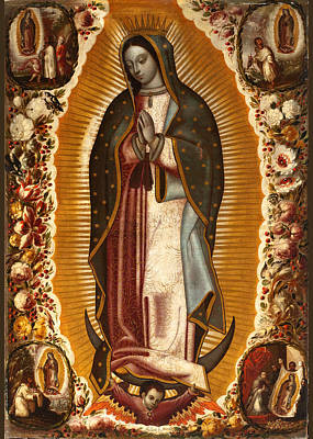 Painting - de Arellano Virgin by Robert Kernodle
