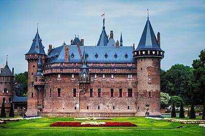 Peaceful Scene Photograph - De Haar Castle. Utrecht. Netherlands by Jenny Rainbow