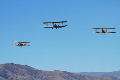 Dh Photograph - De Havilland Dh 82a Tiger Moth by David Wall