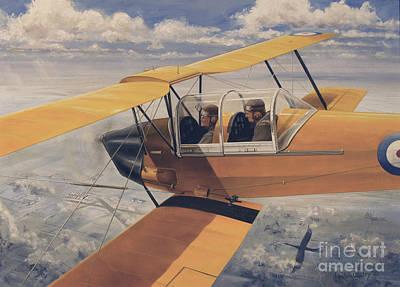 De Havilland Dh.82 Tiger Moth Basic Art Print by TriFocal Communications