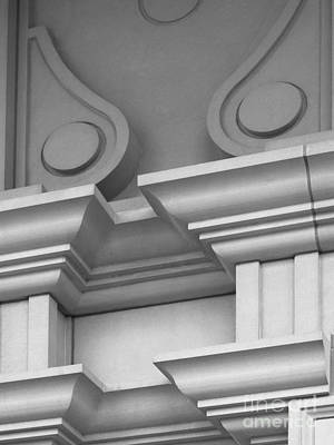 Indiana Photograph - De Pauw University Detail by University Icons