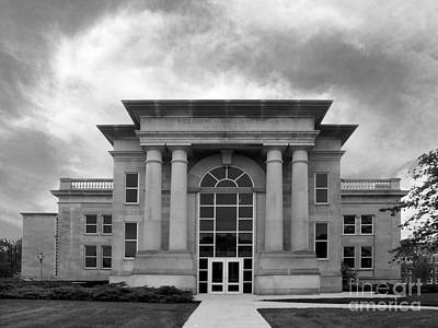 Indiana Photograph - De Pauw University Emison Building by University Icons