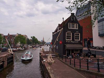 Photograph - de Sluyswacht Amsterdam by Jouko Lehto