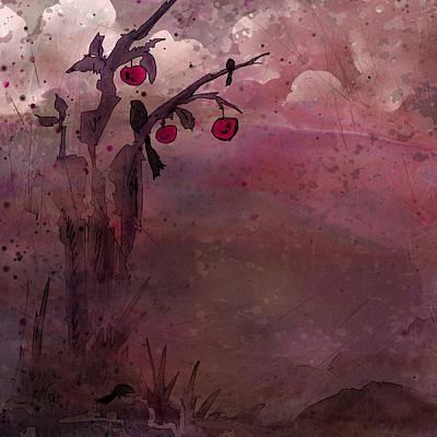 Death Valley Digital Art - Dead Bird by Rachel Christine Nowicki
