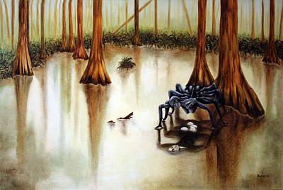 Painting - Dead Calm by Alexandra Louie