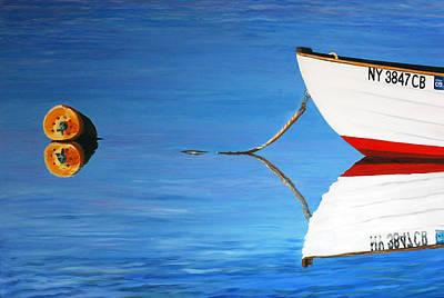 Amagansett Painting - Dead Calm by Lorraine LaVista