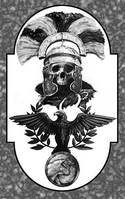 Dead Centurion Art Print by Matt Kedzierski