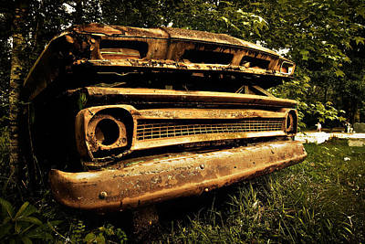Photograph - Dead Chevy by Andy Crawford