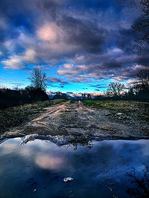 Winter Roads Photograph - Dead End by Phil Koch