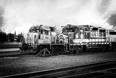 Union Pacific Photograph - Dead-enders by Jim Thompson